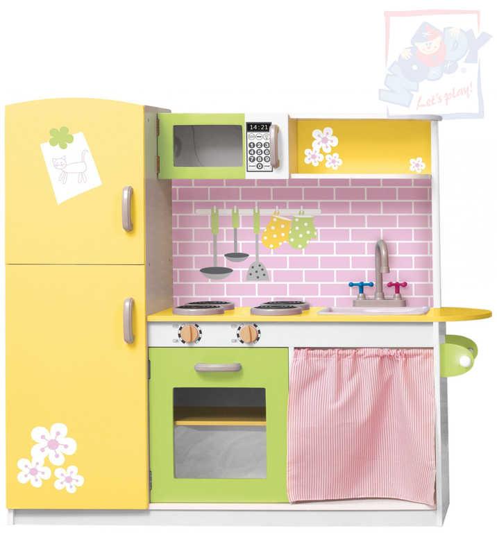 OLYMPTOY DŘEVO Dětská kuchyňka dřevěná LILLY