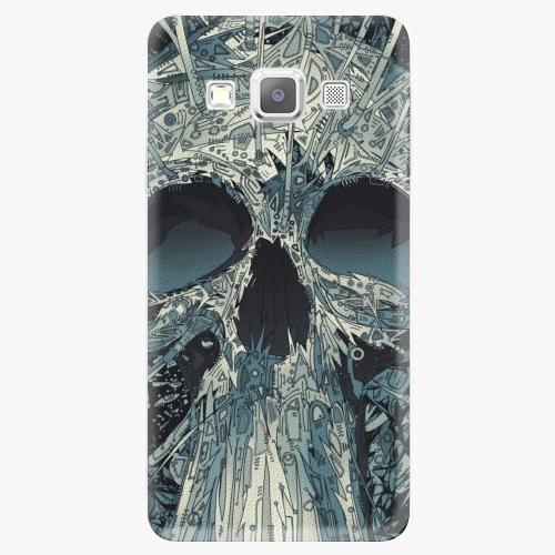 Plastový kryt iSaprio - Abstract Skull - Samsung Galaxy A7