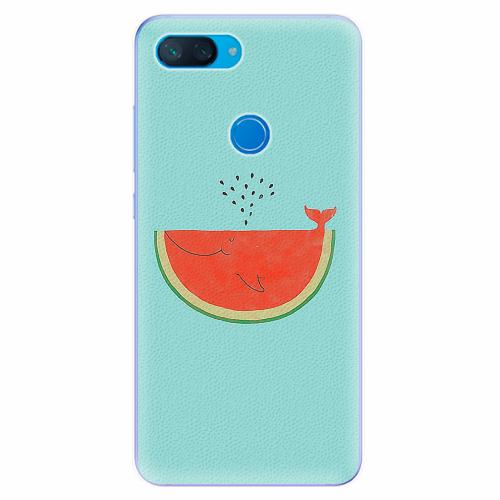 Silikonové pouzdro iSaprio - Melon - Xiaomi Mi 8 Lite