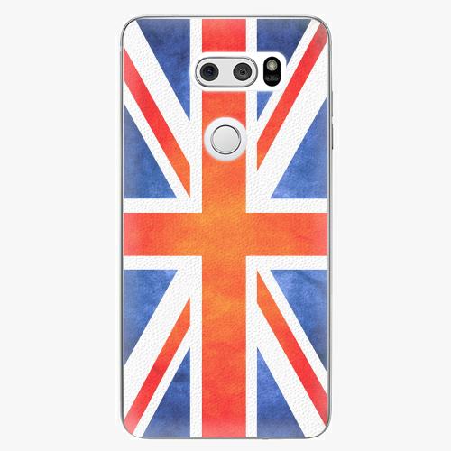 Plastový kryt iSaprio - UK Flag - LG V30