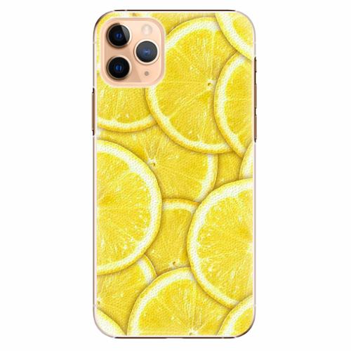 Plastový kryt iSaprio - Yellow - iPhone 11 Pro Max
