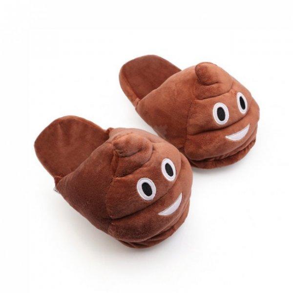 Plyšové pantofle EMOJI - Kakánci