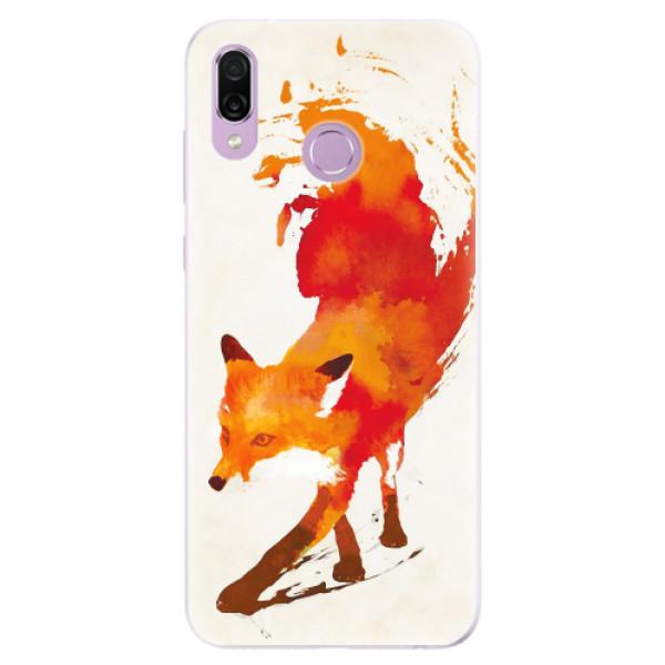 Silikonové pouzdro iSaprio - Fast Fox - Huawei Honor Play