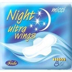 Night Ultra vložky s křidélky 8 ks/bal.