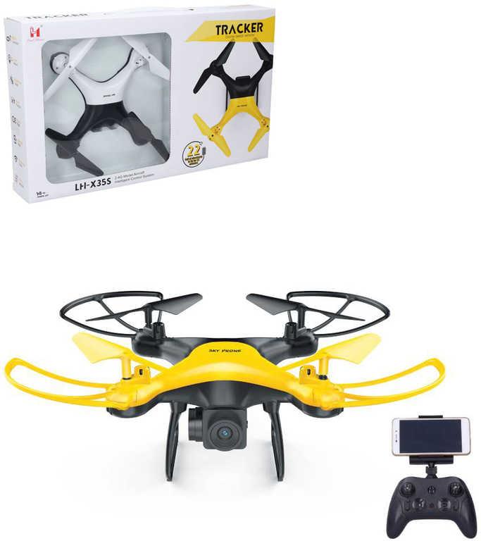 RC Dron vznášedlo s WiFi HD kamerou 2,4GHz na baterie na vysílačku