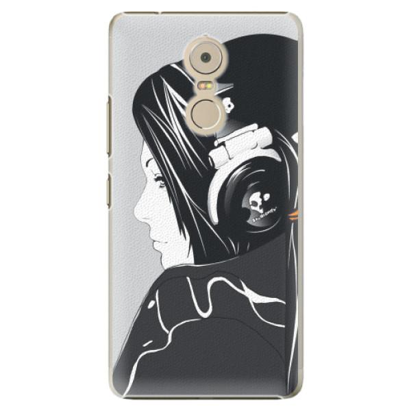 Plastové pouzdro iSaprio - Headphones - Lenovo K6 Note