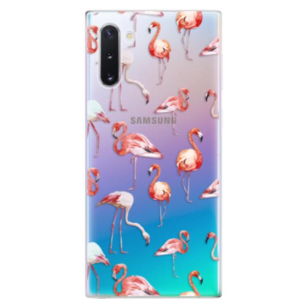 Odolné silikonové pouzdro iSaprio - Flami Pattern 01 - Samsung Galaxy Note 10