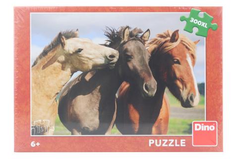 Puzzle Barevní koně 300XL