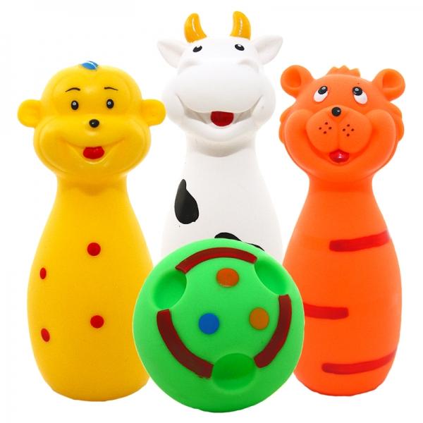 Hencz Toys Gumové kuželky + koule