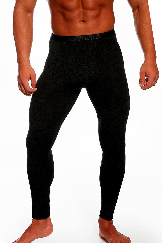 Pánske spodky Thermo plus black - Černá/3XL