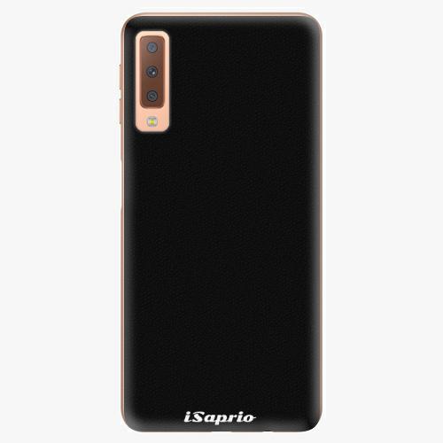 Plastový kryt iSaprio - 4Pure - černý - Samsung Galaxy A7 (2018)