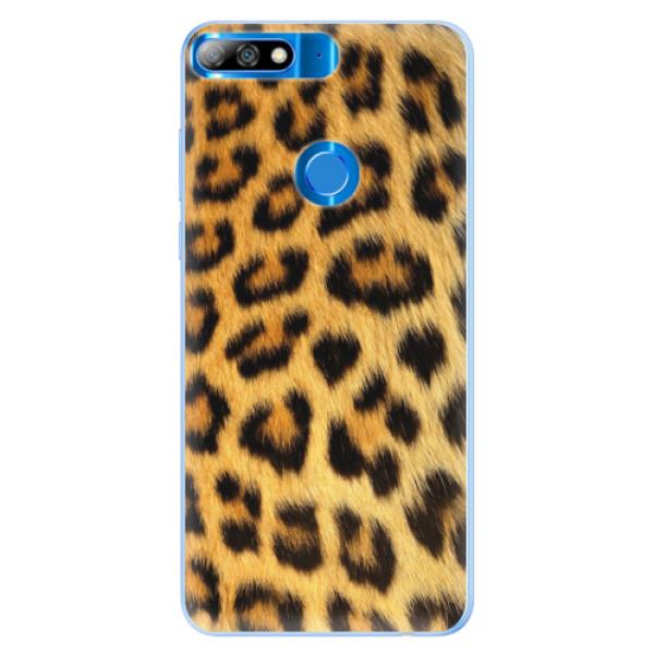 Silikonové pouzdro iSaprio - Jaguar Skin - Huawei Y7 Prime 2018