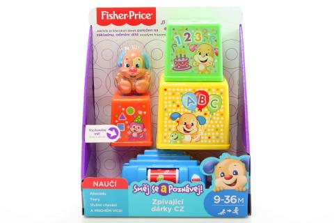 Fisher Price Zpívající dárky CZ FBM87