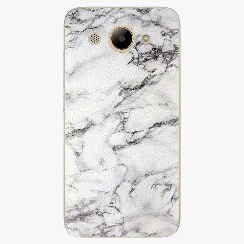 Plastový kryt iSaprio - White Marble 01 - Huawei Y3 2017