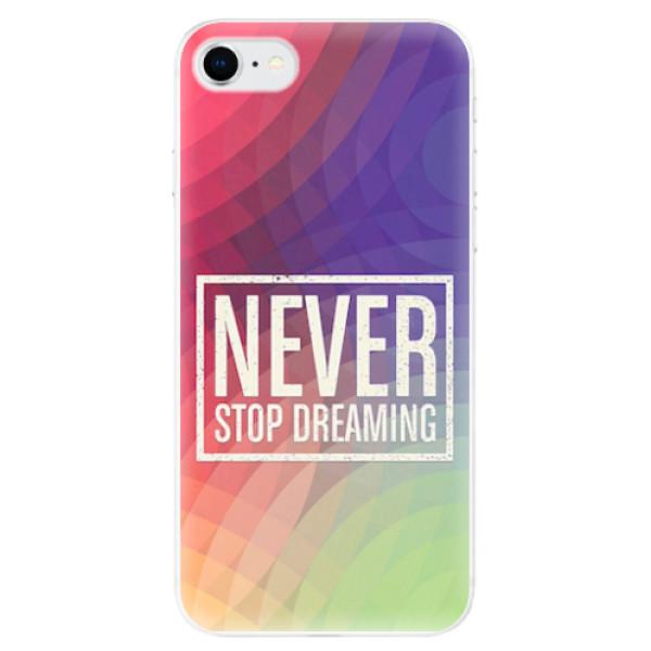 Odolné silikonové pouzdro iSaprio - Dreaming - iPhone SE 2020