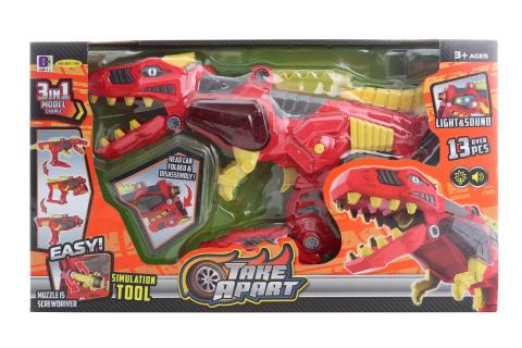 Dino robot šroubovací 3v1