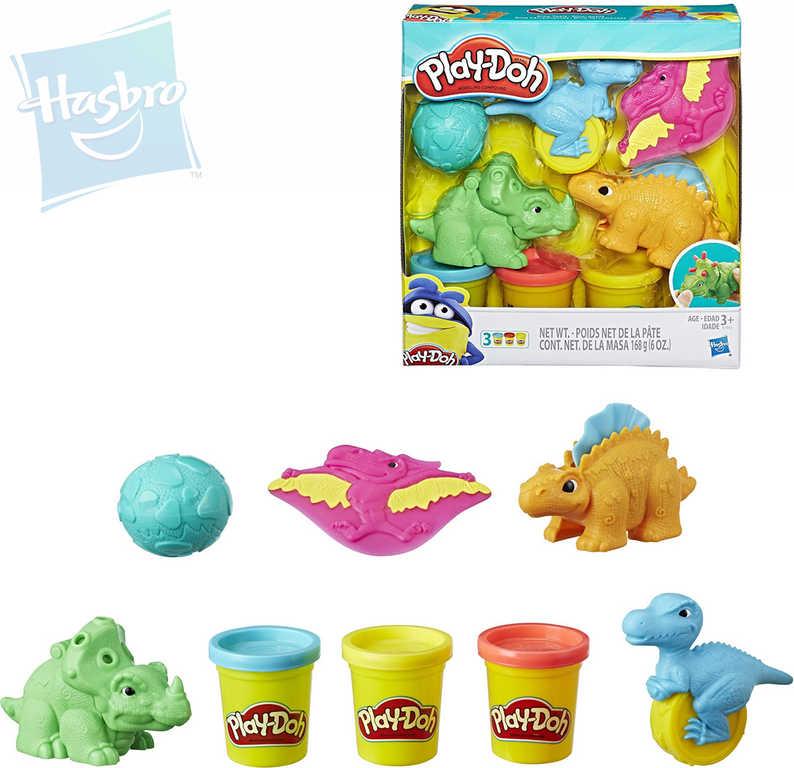 HASBRO PLAY-DOH Vykrajovátka s dinosaury kreativní set s modelínou