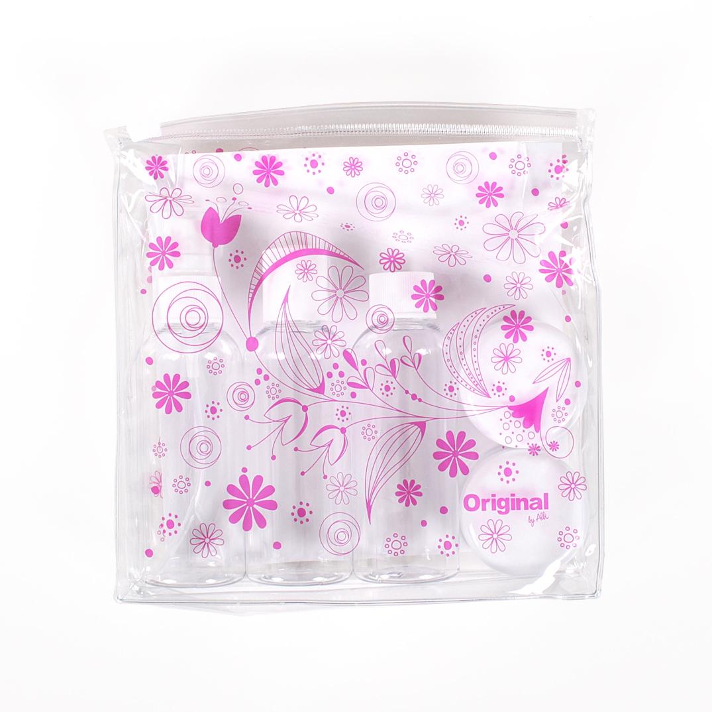 ALBI Cestovní sada - lahviček - Květy