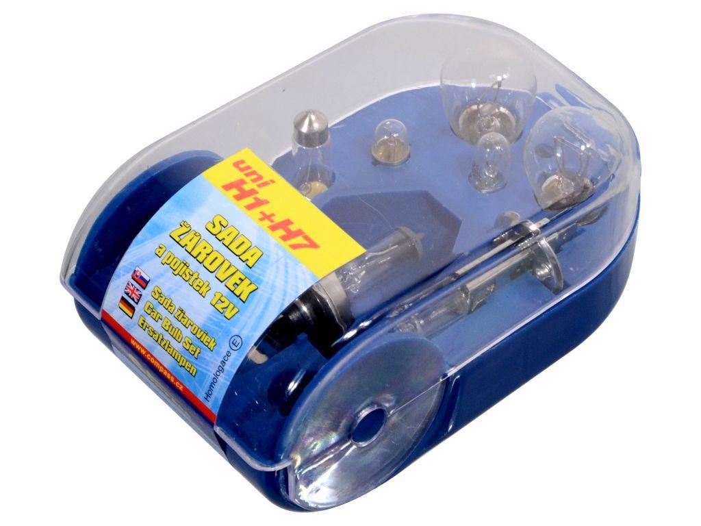 Univerzální servisní box se žárovkami H7 + H1