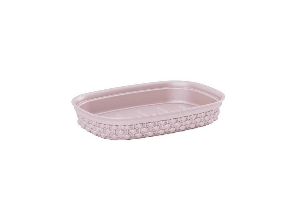 Miska na mýdlo FILO - růžová