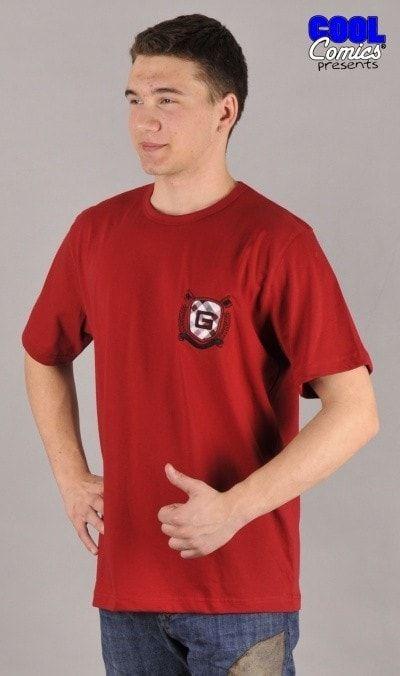 Pánské tričko Zbyšek 0936 - Gazzaz - Bordo/XL