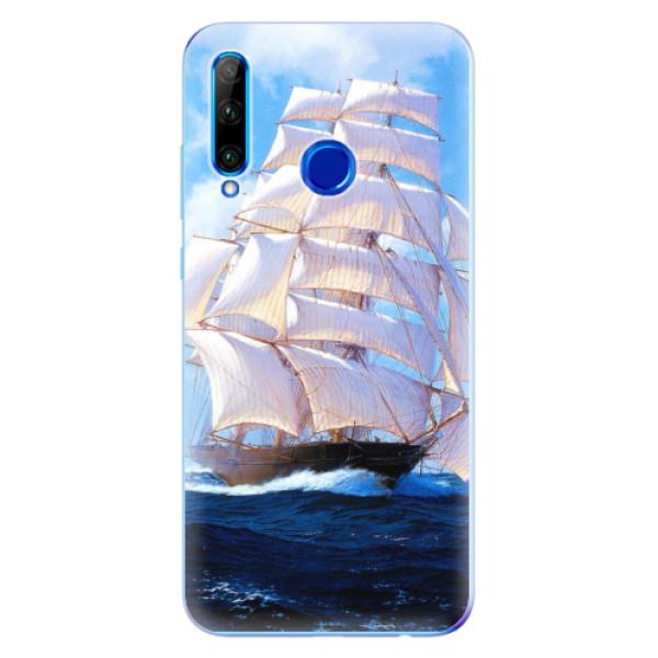 Odolné silikonové pouzdro iSaprio - Sailing Boat - Huawei Honor 20 Lite