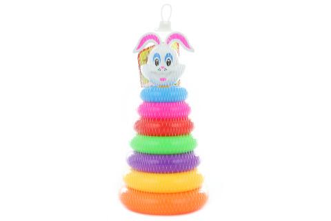 Sloup s kroužky - králík