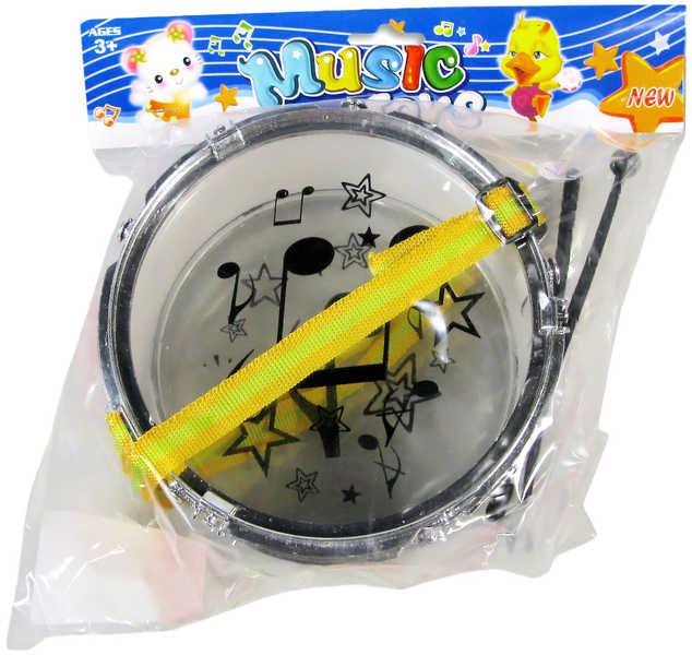 Bubínek na krk v sáčku s paličkami Malý bubeník