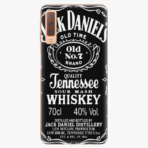 Plastový kryt iSaprio - Jack Daniels - Samsung Galaxy A7 (2018)