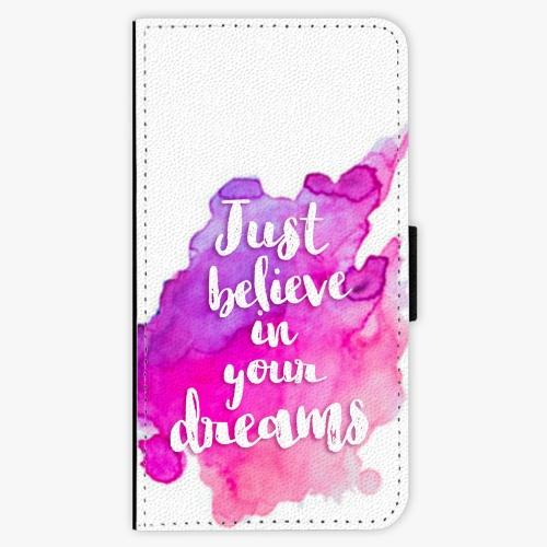 Flipové pouzdro iSaprio - Believe - Samsung Galaxy J7 2017
