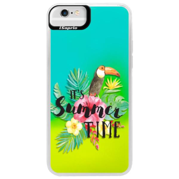 Neonové pouzdro Blue iSaprio - Summer Time - iPhone 6 Plus/6S Plus