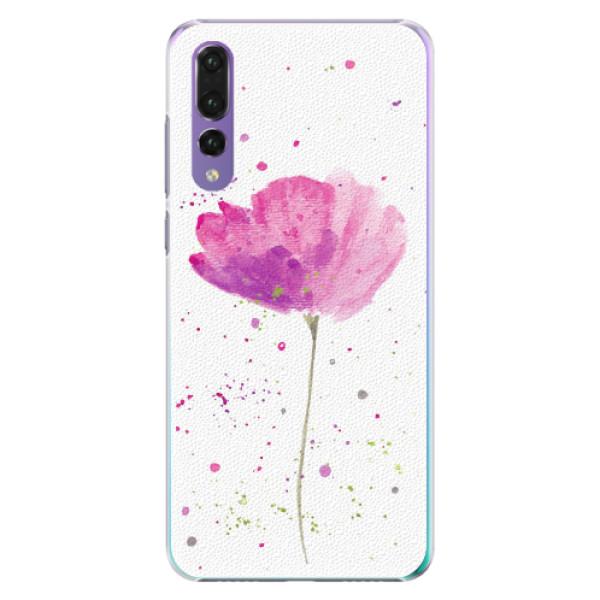 Plastové pouzdro iSaprio - Poppies - Huawei P20 Pro