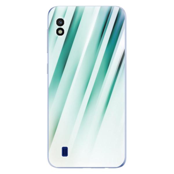 Odolné silikonové pouzdro iSaprio - Stripes of Glass - Samsung Galaxy A10