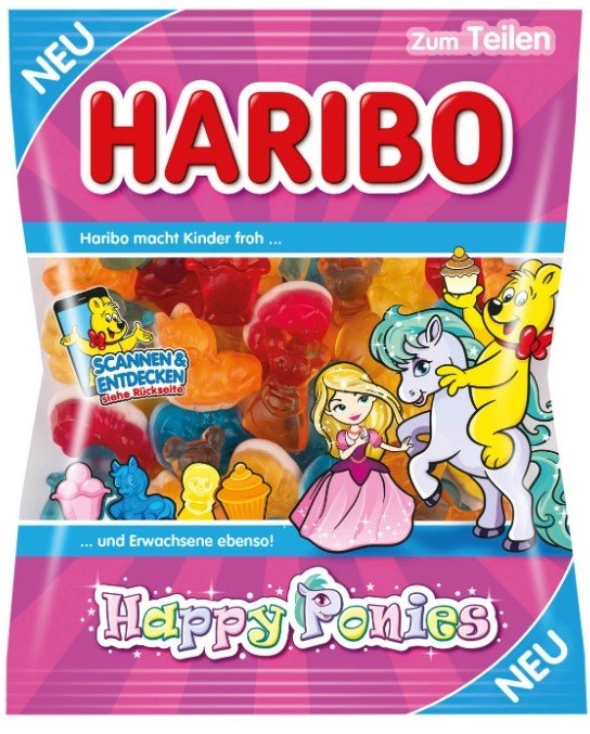 Haribo Happy Ponies 175g
