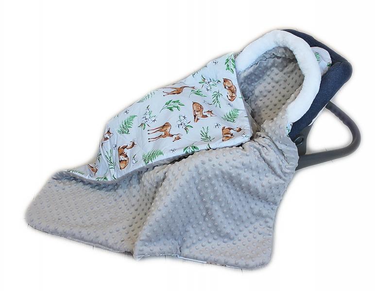 baby-nellys-bavlnena-oboustranna-decka-3v1-s-minky-a-kozesinkou-90x90-cm-srnky