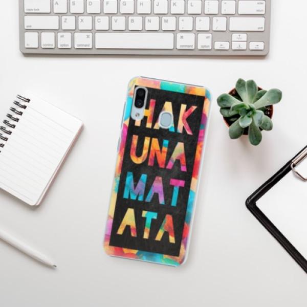 Plastové pouzdro iSaprio - Hakuna Matata 01 - Samsung Galaxy A30
