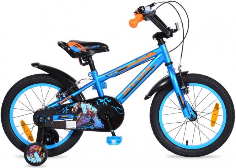 Byox Dětské kolo Monster 16, modré