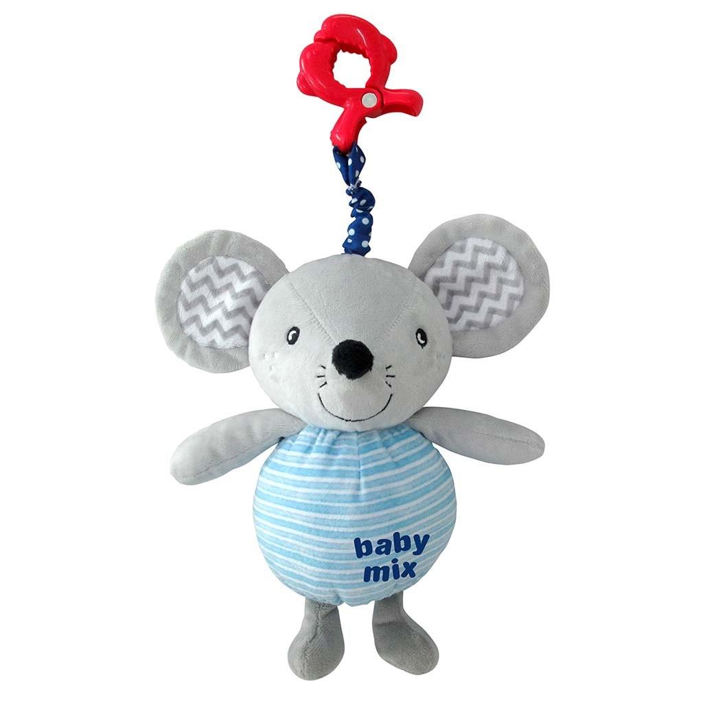 Dětská plyšová hračka s hracím strojkem Baby Mix