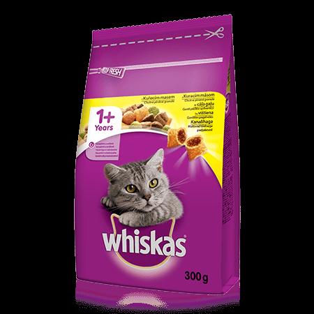 Granule pro kočky s kuřecím 300 g