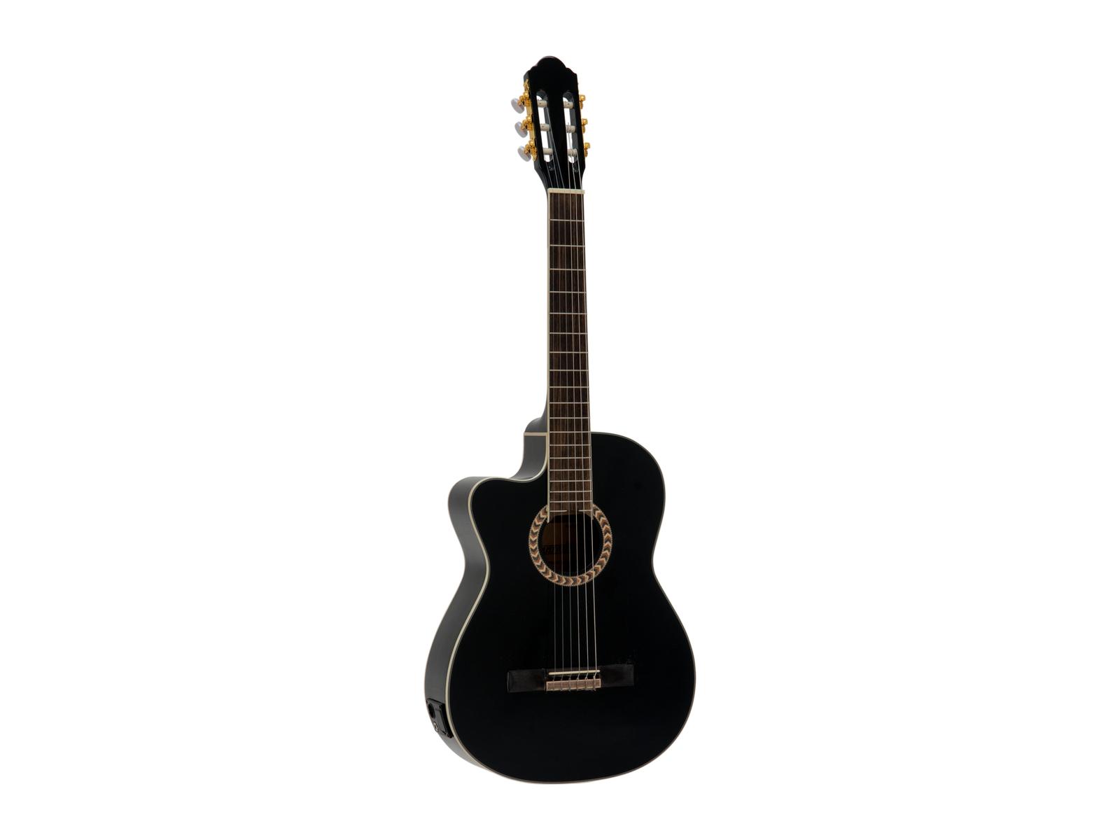 Dimavery CN-600L Classical guitar, black