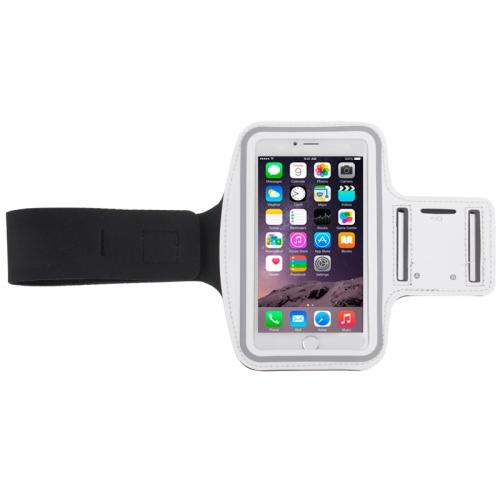 Sportovní pouzdro pro iPhone 6 Plus / 6S Plus bílé