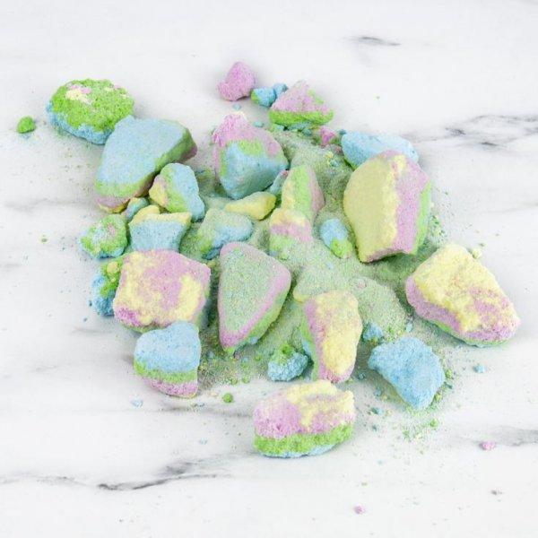 Magický barevný prach do koupele