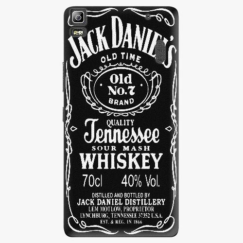 Plastový kryt iSaprio - Jack Daniels - Lenovo A7000