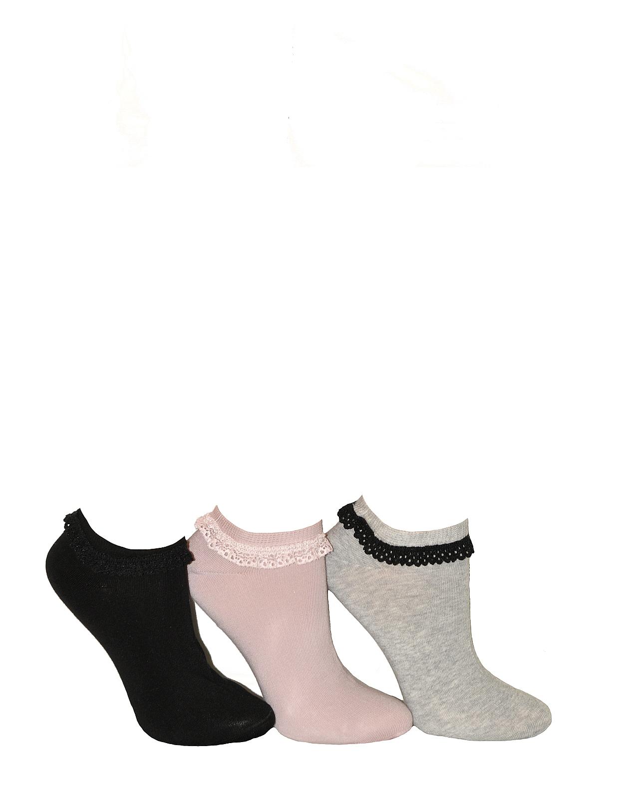 4f32cdff681 Ponožky Milena s krajkou 941 - Pudrově růžová 37-41