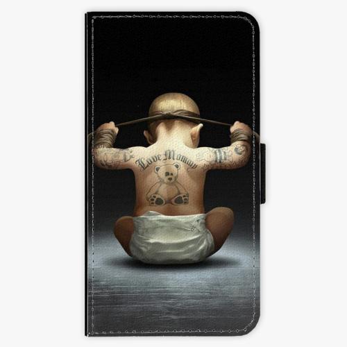 Flipové pouzdro iSaprio - Crazy Baby - Lenovo Moto G5