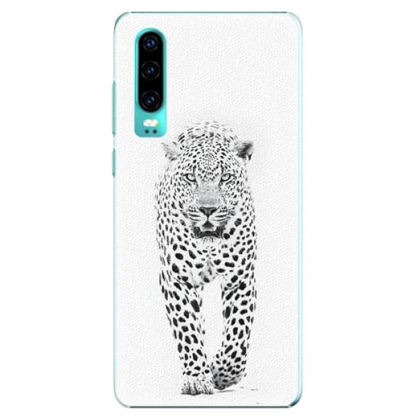 Plastové pouzdro iSaprio - White Jaguar - Huawei P30