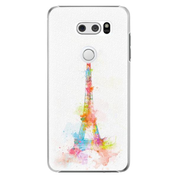 Plastové pouzdro iSaprio - Eiffel Tower - LG V30