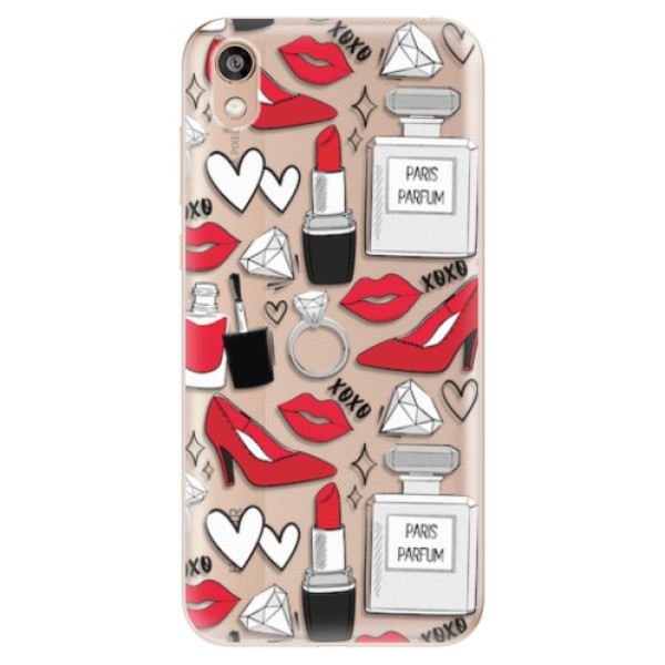 Odolné silikonové pouzdro iSaprio - Fashion pattern 03 - Huawei Honor 8S