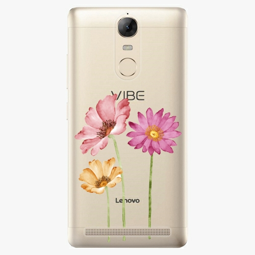 Plastový kryt iSaprio - Three Flowers - Lenovo K5 Note