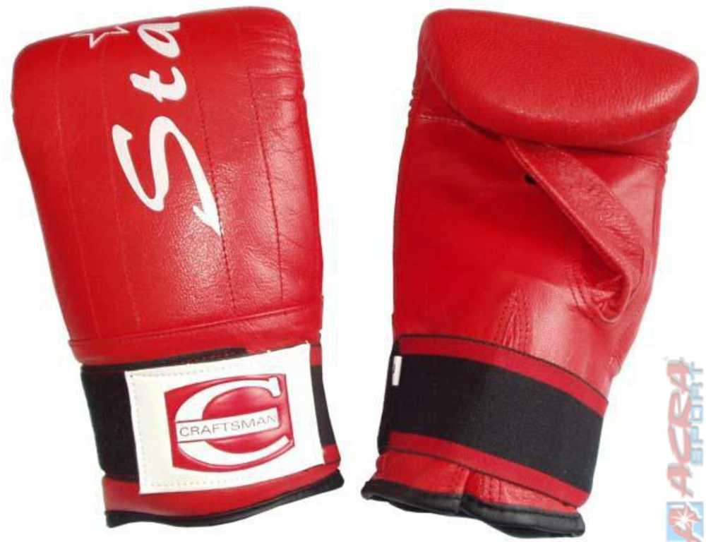 ACRA Rukavice boxérské tréninkové vel.8-14 pytlovky